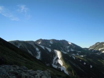 昨日歩いた稜線190727