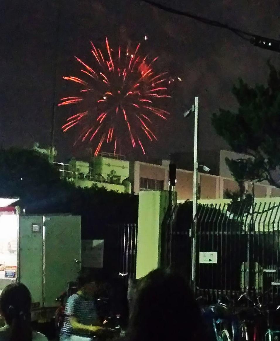 1907祭りから花火