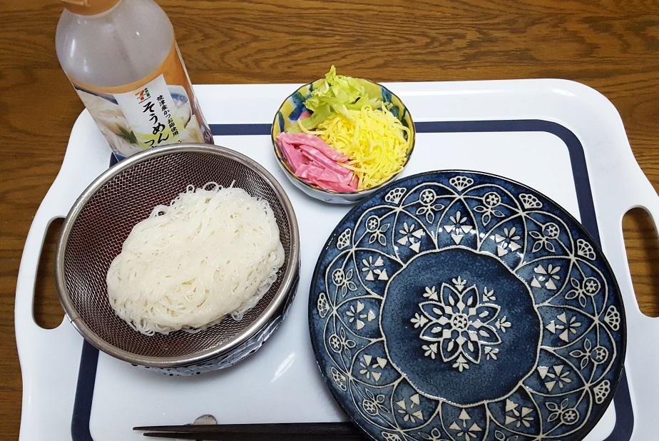 めちゃ高級そうな素麺_子供版