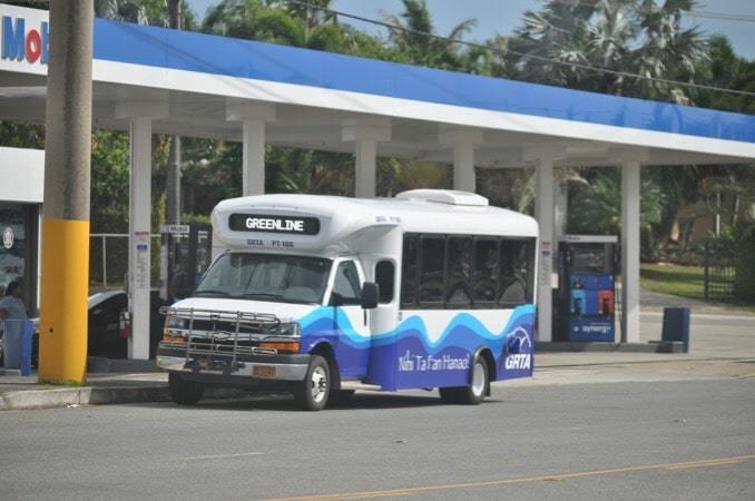 グアム GRTA バス