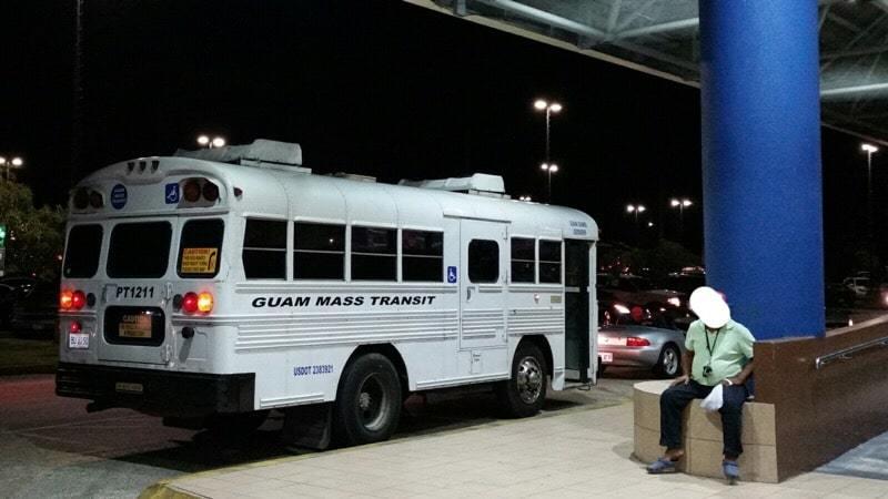 グアム GRTA バス 旧型