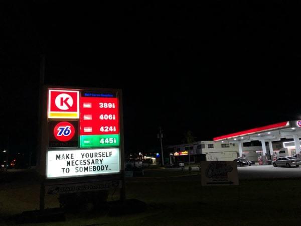 2019年2月6日のグアムのガソリン価格