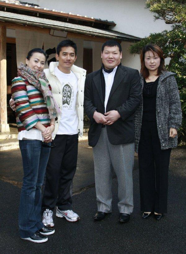 トニーさん&カリーナ&王传峰先生