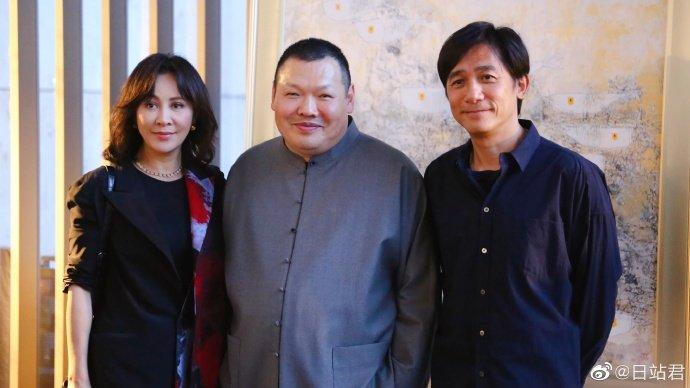 トニーさん&カリーナ&王傳峰@「和而不同」出版祝賀会