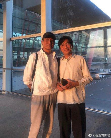 トニーさん&レオン・カーファイ@北京空港1