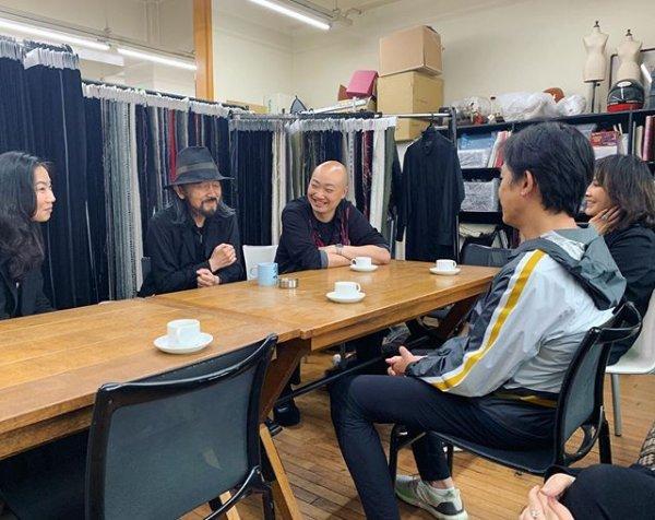 トニーさん、山本耀司氏に会う2