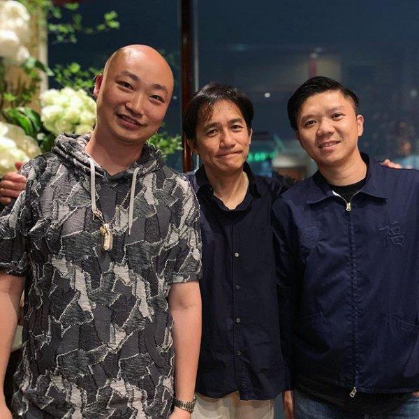 トニーさん、山本耀司氏に会う4
