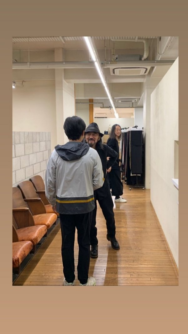 トニーさん、山本耀司氏に会う3