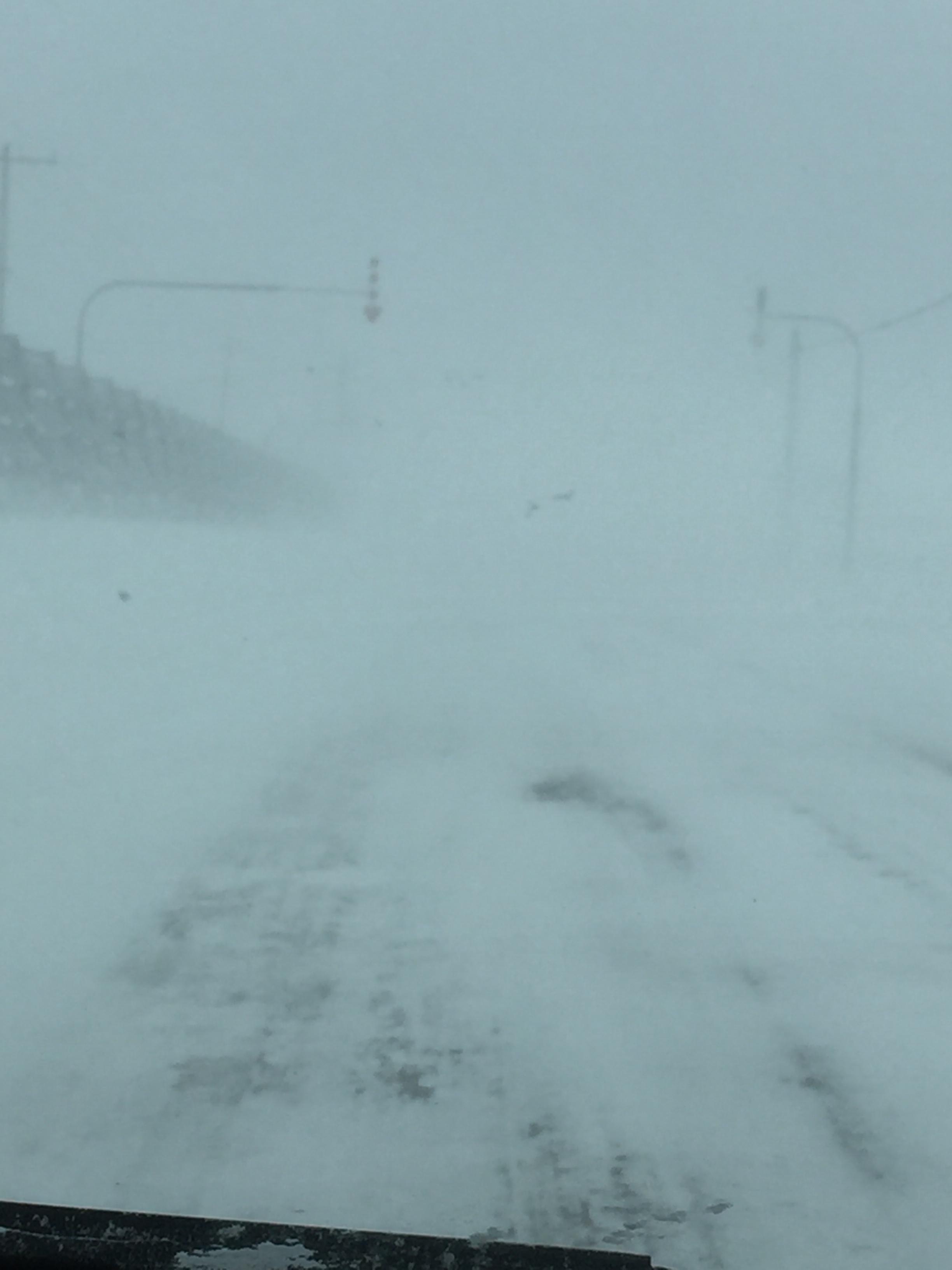 昨日の最強寒波