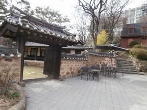 チャン・ウクジン古宅 ロケ地の入口