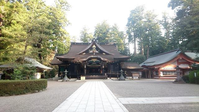 香取神宮 拝殿 (1)
