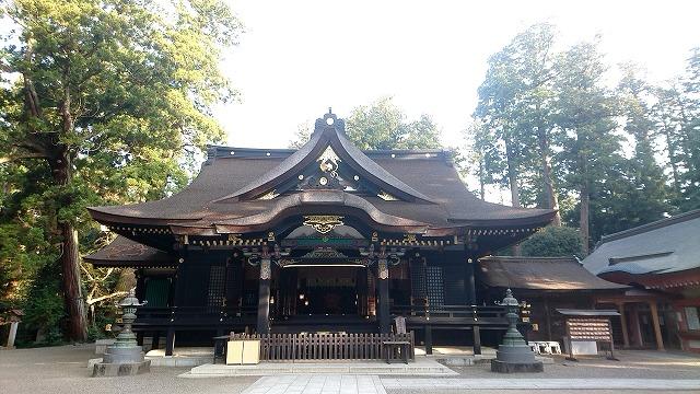 香取神宮 拝殿 (2)