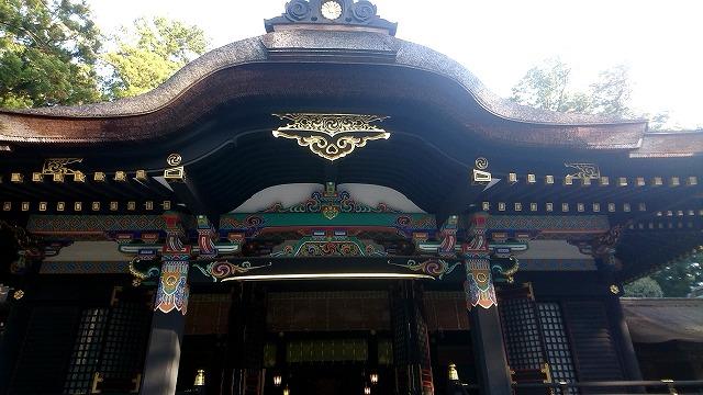 香取神宮 拝殿 (3)