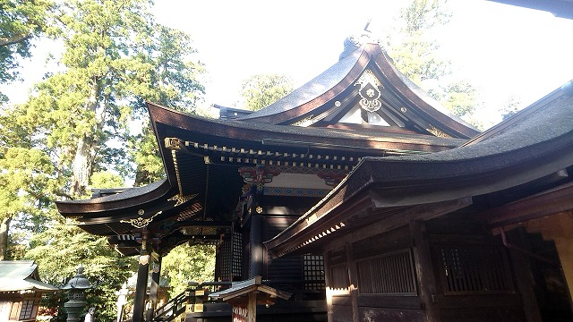 香取神宮 拝殿 (4)
