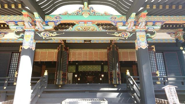 香取神宮 拝殿 (5)