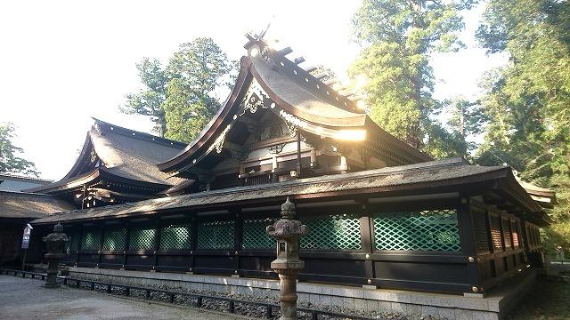 香取神宮 本殿 (2)