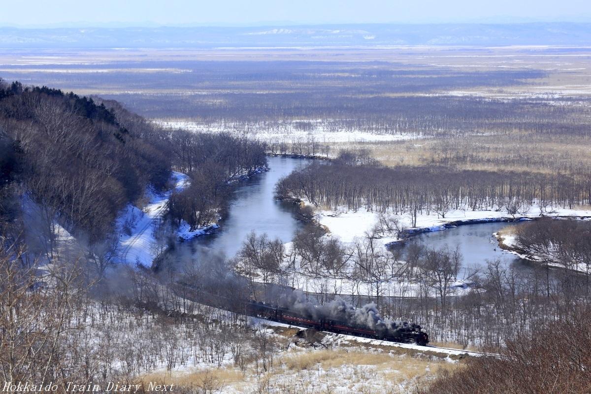 SL冬の湿原号:細岡~塘路