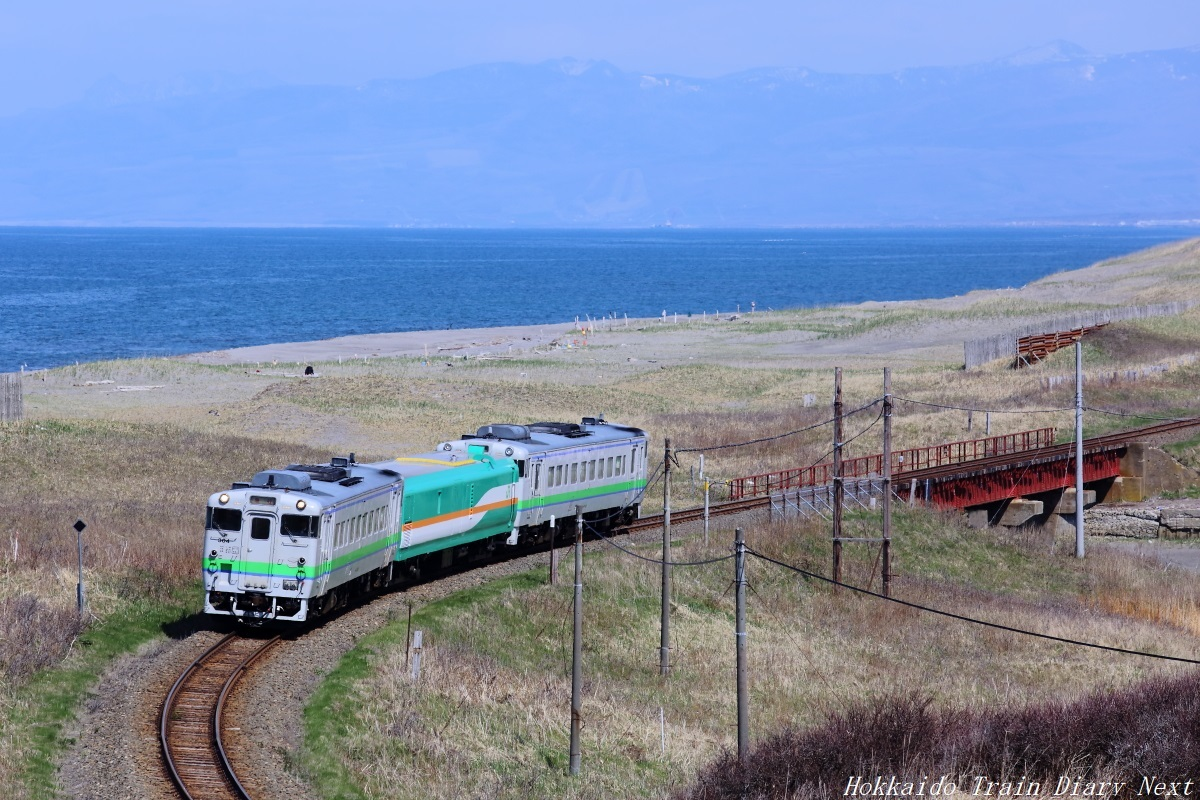 検測列車:止別~浜小清水