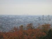 2018/12/2城山湖金毘羅宮から