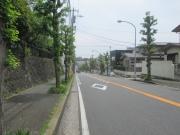 富岡第三公園前の道 2019/5/3 11:31