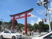 2019/8/11 14:18 鶴岡八幡宮前
