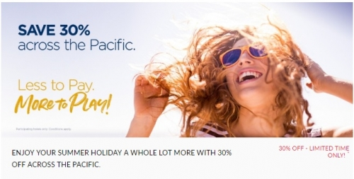 アコーホテル オーストラリア、ニュージーランドフィジー&フランス領ポリネシアで最大40%OFF