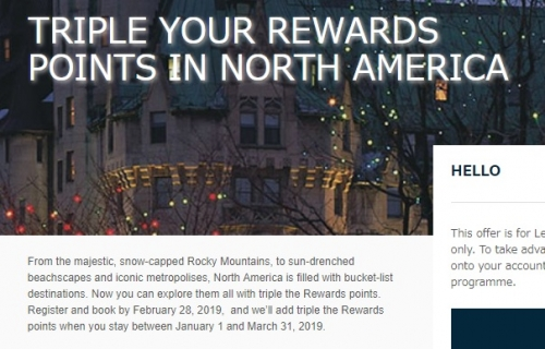 アコークラブ アメリカでの滞在を対処にトリプルポイントキャンペーン