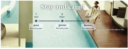 1アコーホテルで最大7,500ボーナスポイントを獲得するキャンペーン