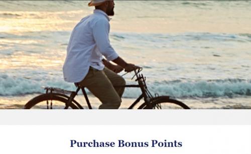 1ワールドオブハイアット ハイアットのポイント購入では最大40%ボーナスポイント