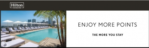 ヒルトンオーナーズのウォルドーフアストリアまたはコンラッドホテル&リゾートでの宿泊で65,000ボーナスポイントキャンペーン1
