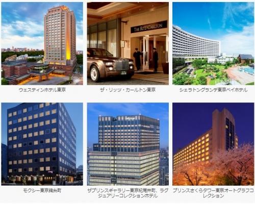 1マリオットBonvoyで日本、韓国、グアム、ハワイでの滞在を対象に1回の宿泊で2,000ボーナスポイント