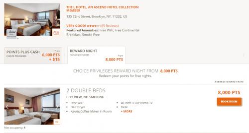 Choice Privilegesで東京やニューヨークでの宿泊が1泊6,500円で滞在できます1。