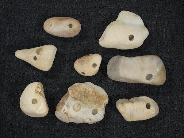 「月光」の石笛たち