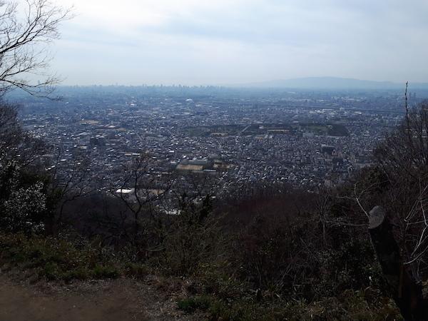 飯森山山頂からの展望