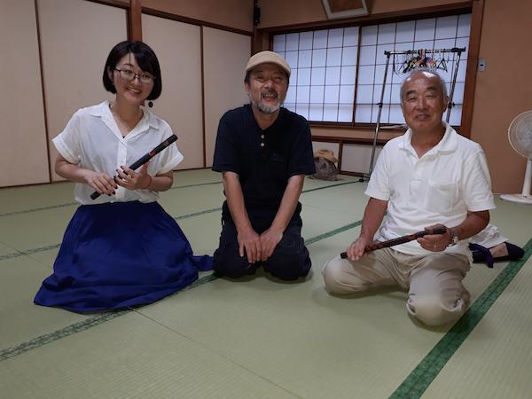 京都雅楽塾にて