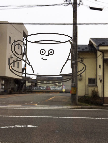 能登ミルク_窓のカップ