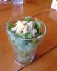 PAUPAW ランチセットのサラダ