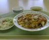今日のお昼は中華丼