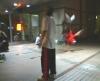 図書館前のダンサーさん達