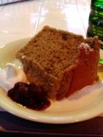 セットのケーキ@SANTA CROWS CAFE