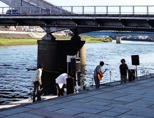 狩野川・水辺のステージ セプテンバーコンサート