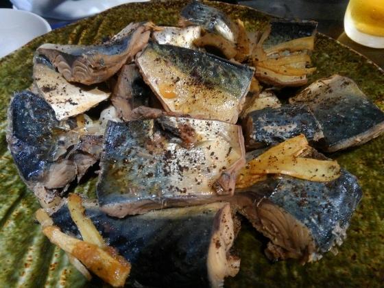 銀漢亭の料理