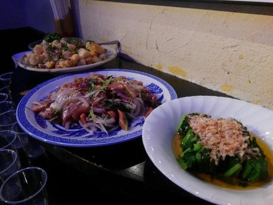 銀漢亭大皿料理
