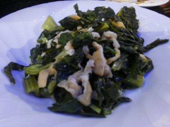 銀漢亭大皿料理 おひさ農園の野菜