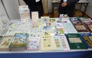 日本郵趣協会ブース