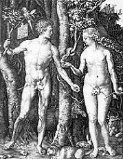 『アダムとイブ』デューラー