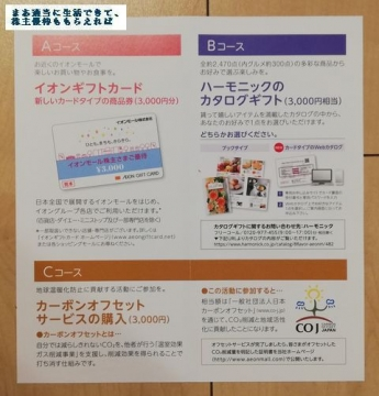 イオンモール 優待案内01 201902