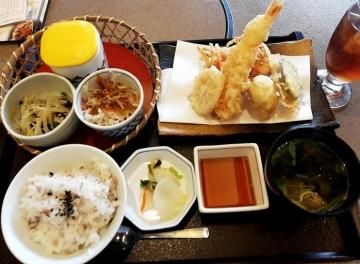 クリエイトレストランツ かごの屋 天ぷら盛合せ01 1810 201802