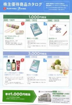 萩原工業 株主優待商品カタログ01 201810