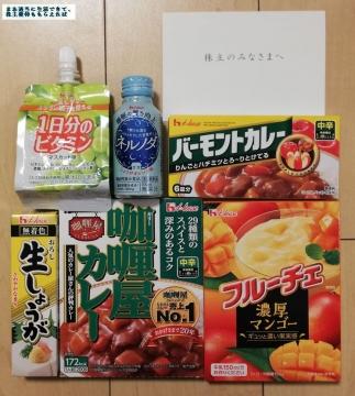 ハウス食品グループ 優待内容01 201903